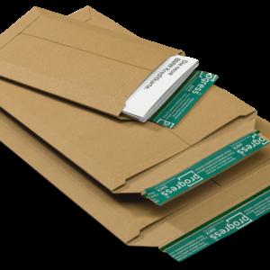 Massief kartonnen envelop